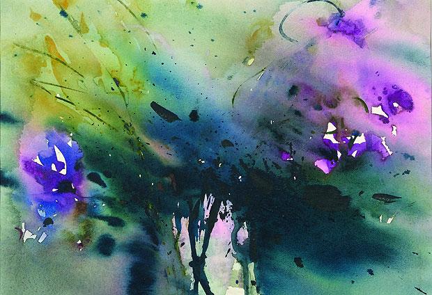 Blumen: Aquarelle - Licht - Farben - Wasser - Werner ...